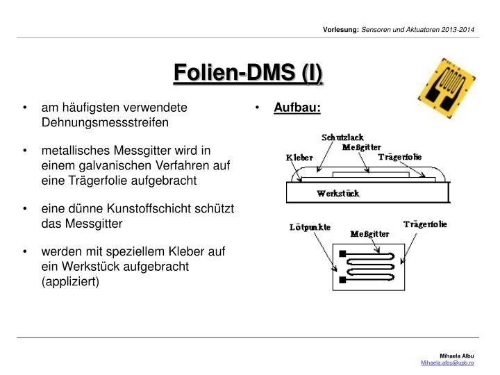 Folien-DMS (I)