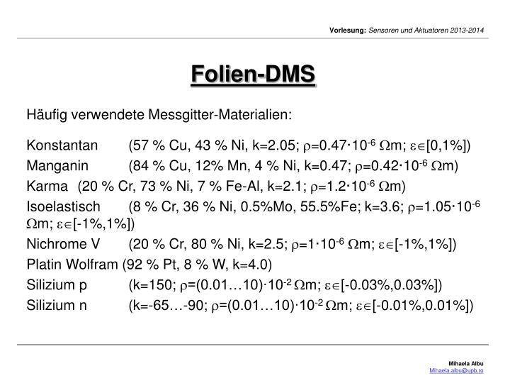 Folien-DMS
