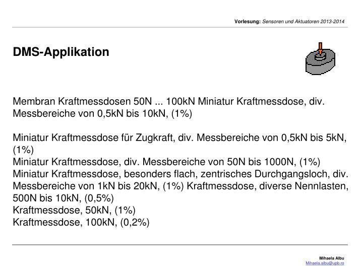 DMS-Applikation