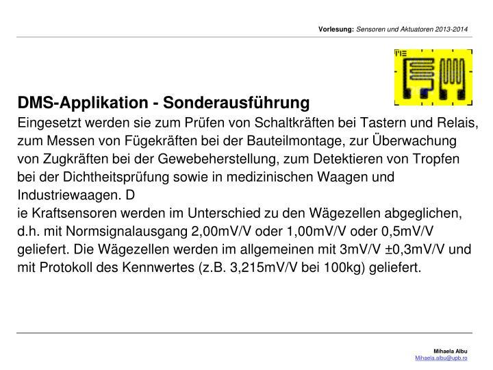 DMS-Applikation -