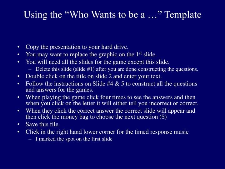 """ppt - using the """"who wants to be a …"""" template powerpoint, Powerpoint templates"""