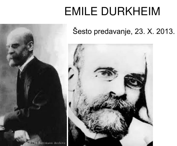 a comparison of anthropological and sociological ideas of franz boas and emile durkheim Wallace stevens and emile durkheim to more fully understand stevens' poem the idea of order at key west, one can look at the ideas of the poem in context of social-philosophical thought emile durkheim's theories on religion closely parallel those of stevens both men believe that there is no.