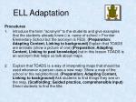 ell adaptation6
