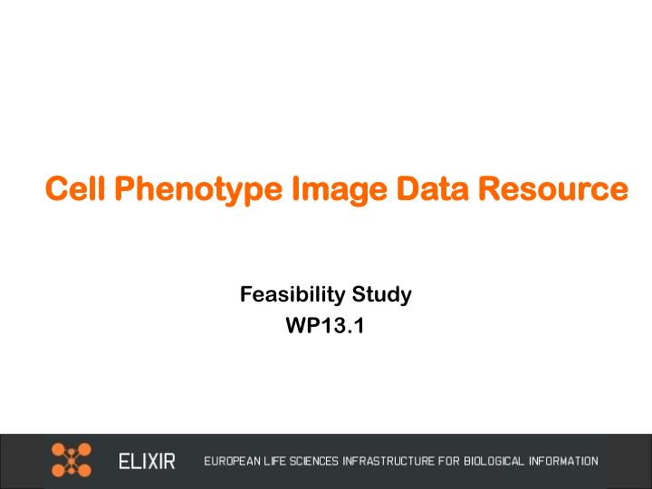 cell phenotype image data resource n.
