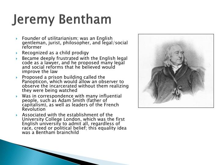 critics of jeremy benthem utilitarianism Legal positivism: an analysis of austin and bentham, criticism of positivist john austin and jeremy bentham are the two most celebrated authors of this.