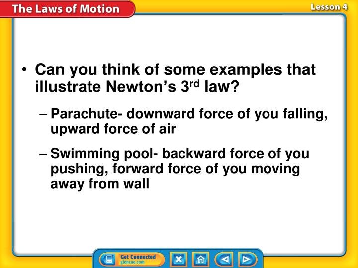 Can you think of some examples that illustrate Newton's 3