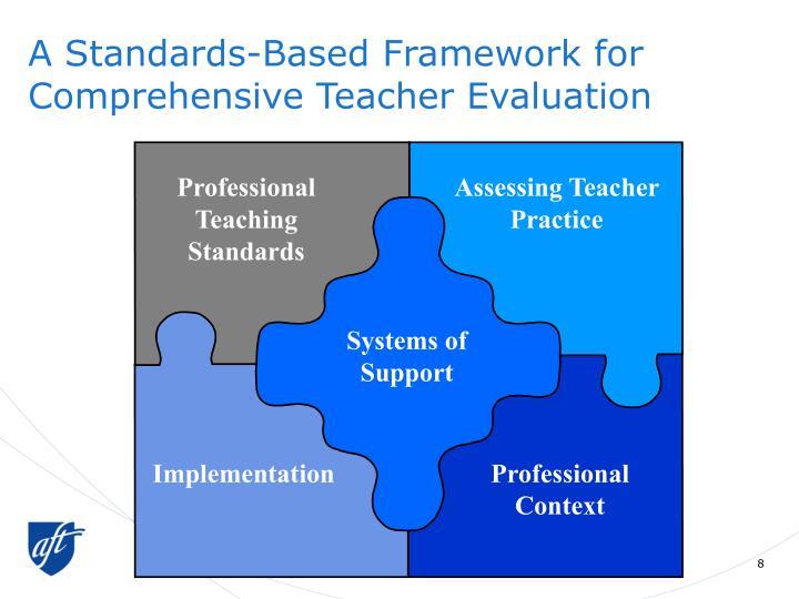 A Standards-Based Framework for Comprehensive Teacher Evaluation
