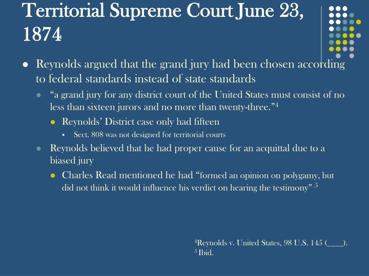 Territorial Supreme Court