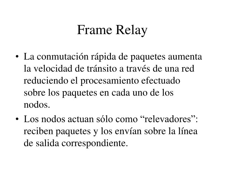PPT - Frame Relay PowerPoint Presentation - ID:4031426
