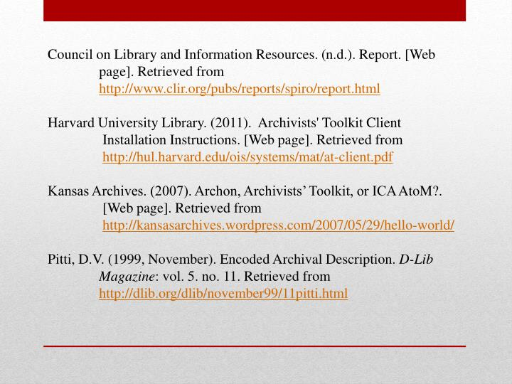 Council on Library and Information Resources. (