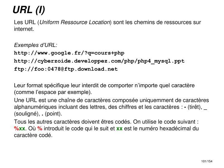 URL (I)