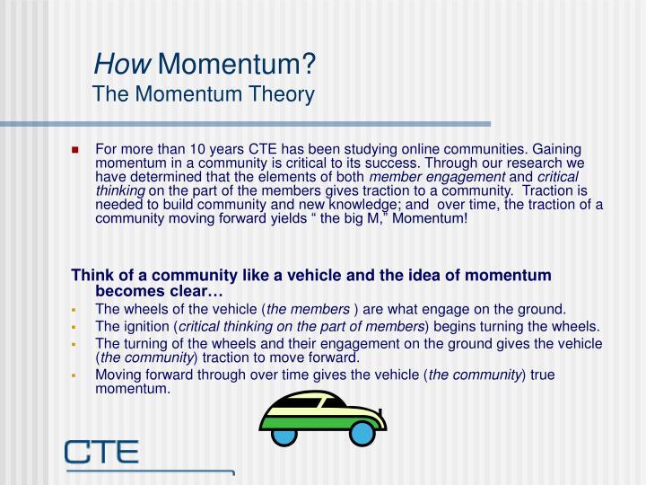 How momentum the momentum theory