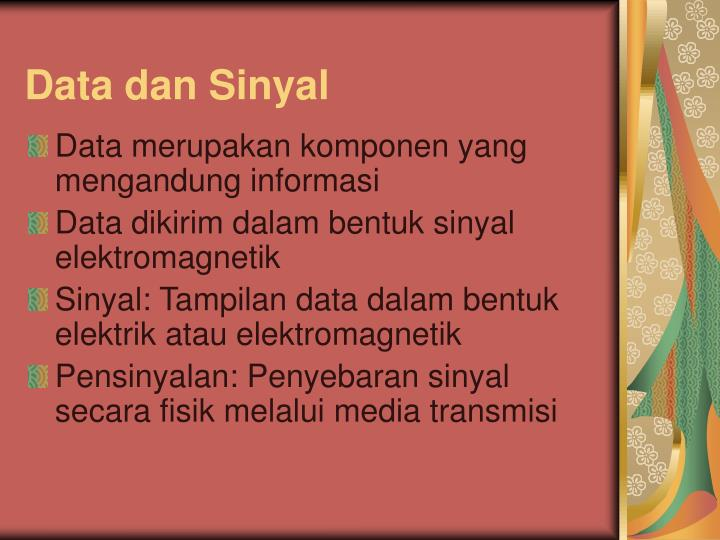 Data dan Sinyal
