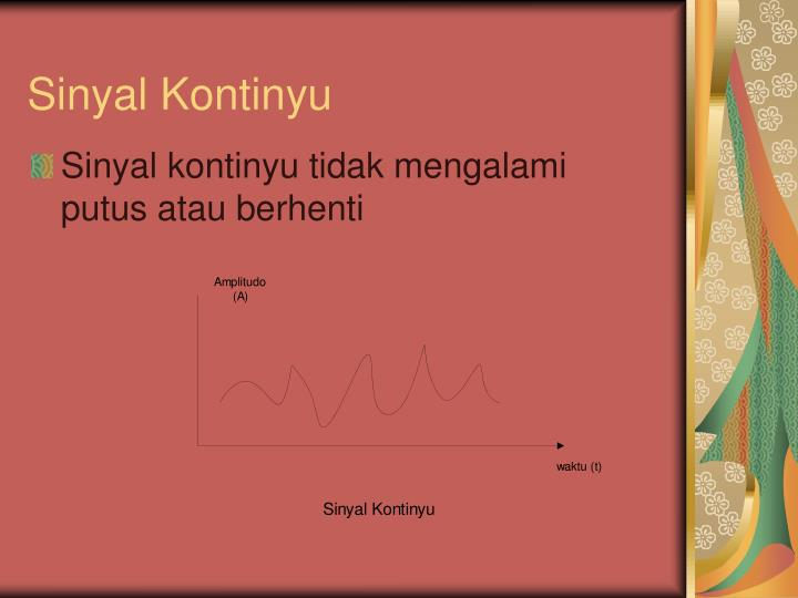 Sinyal Kontinyu