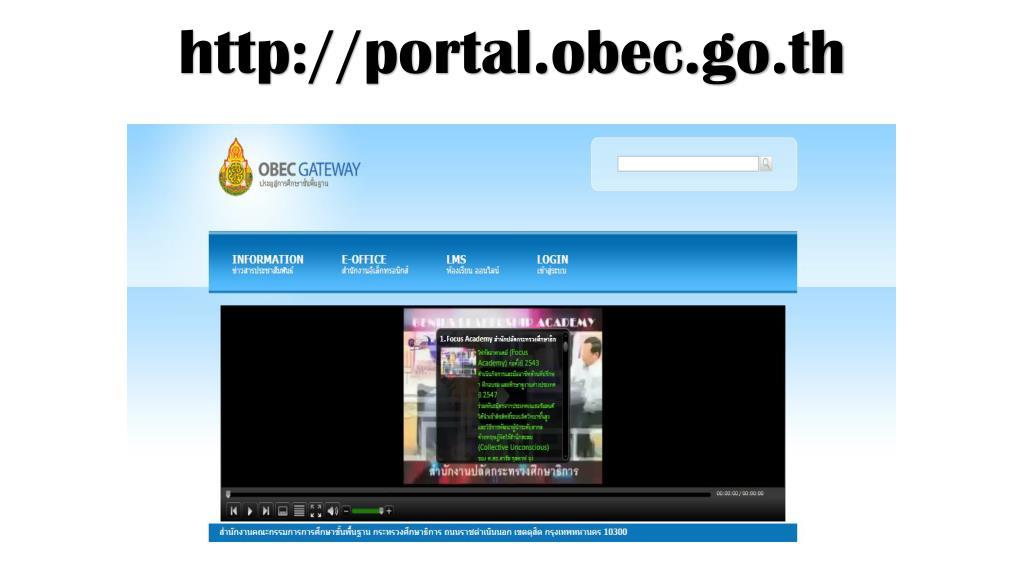 PPT - portal obec go th PowerPoint Presentation - ID:4032642