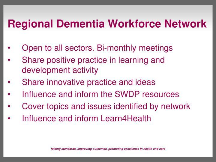 Regional Dementia Workforce Network