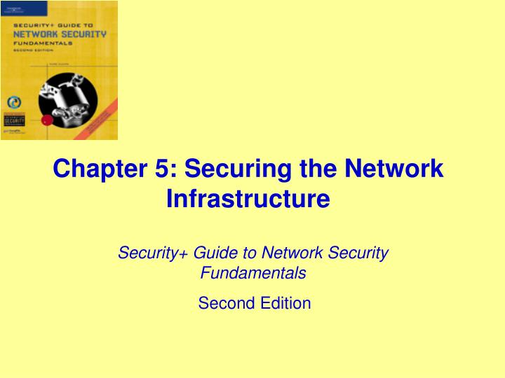 chapter 5 securing the network infrastructure n.