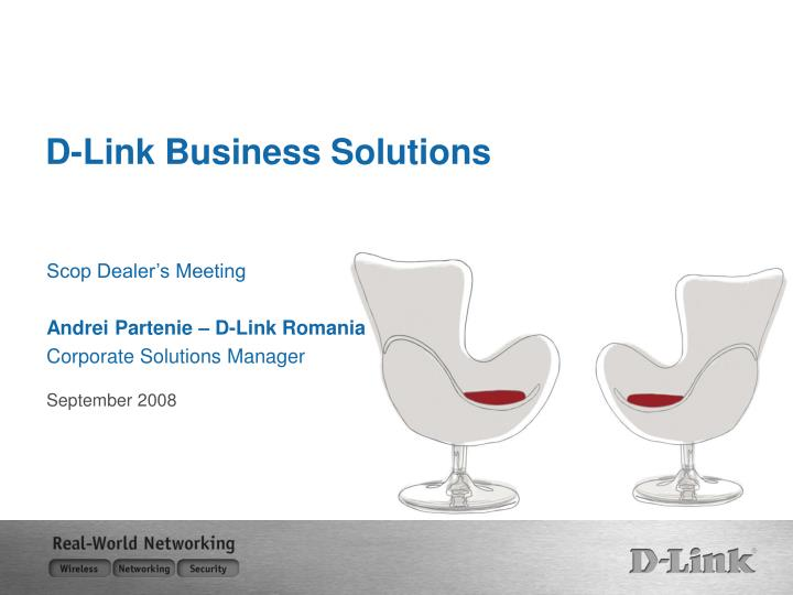d link business solutions n.