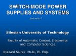 switch mode power supplies and systems