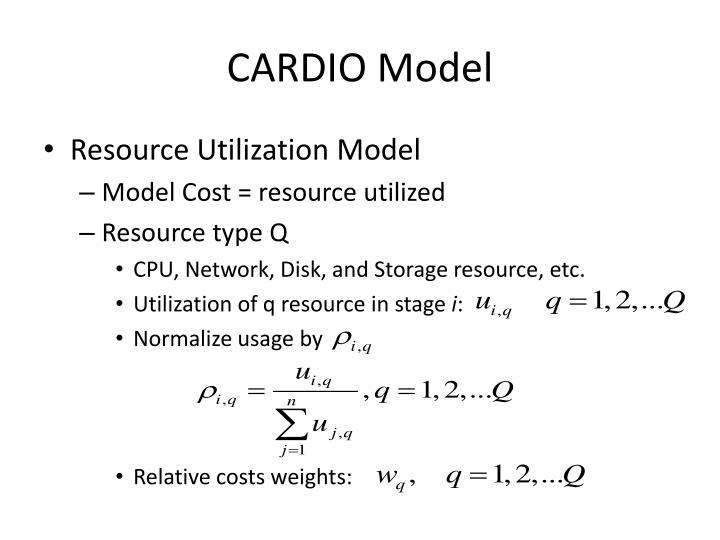 CARDIO Model