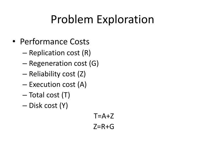 Problem Exploration