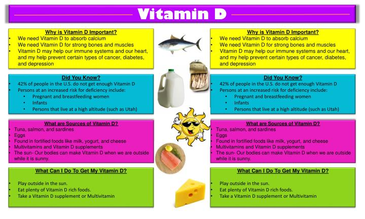 why is vitamin d for