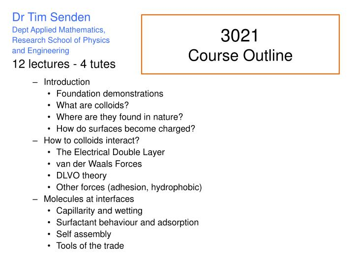 introduction to politics course outline