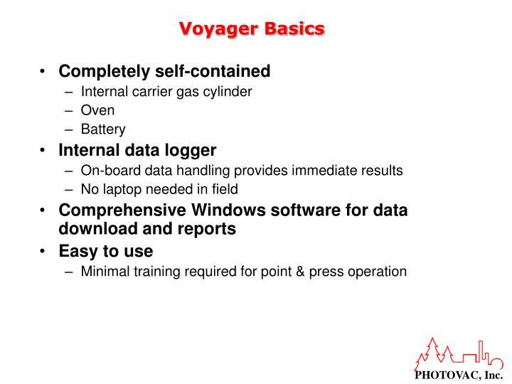 Voyager basics1