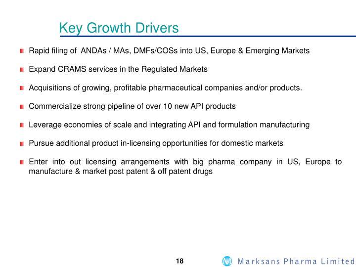 Key Growth Drivers