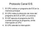 protocolo canal e s
