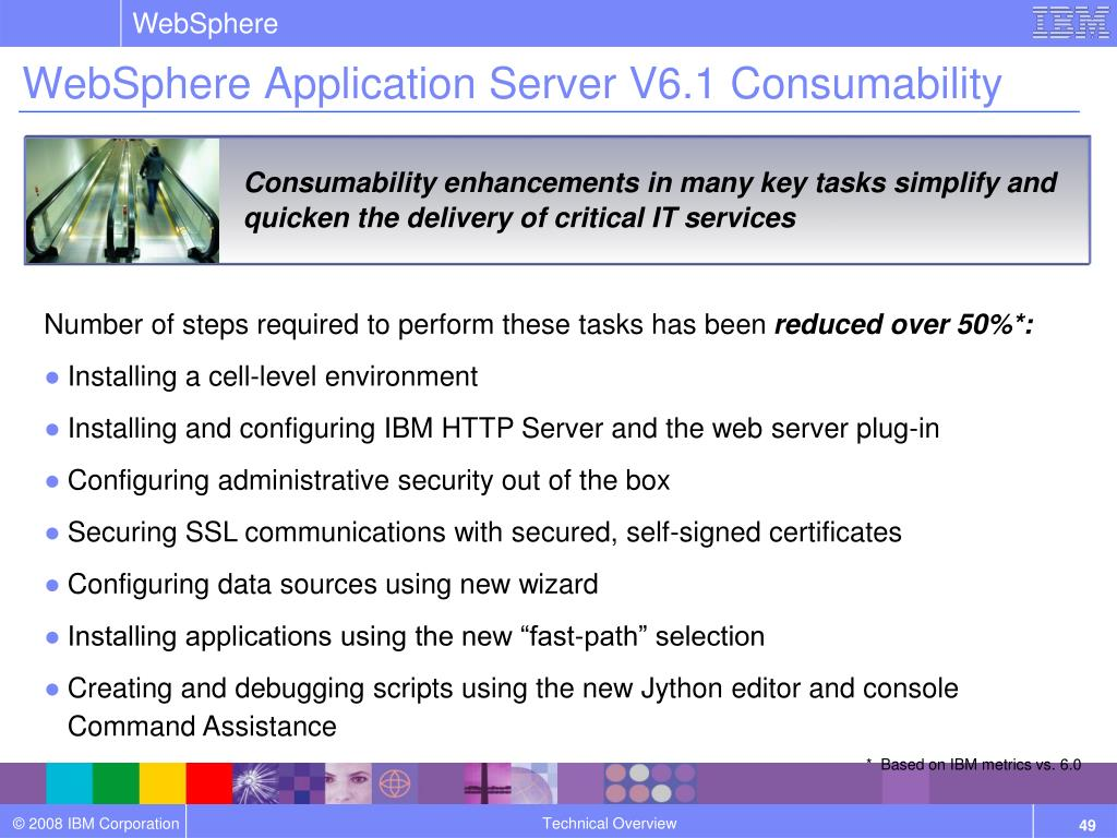 PPT - WebSphere Application Server V6 1 Technical Overview