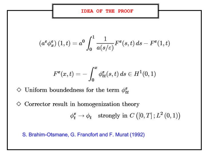 IDEA OF THE PROOF