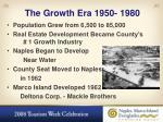 the growth era 1950 1980