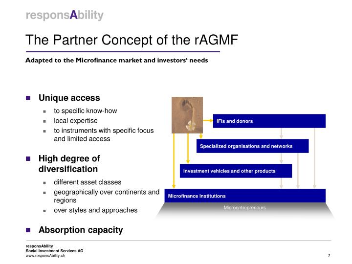 The Partner Concept of the rAGMF