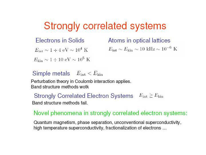 Correlation effects in low dimensional fermion systems