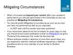 mitigating circumstances1