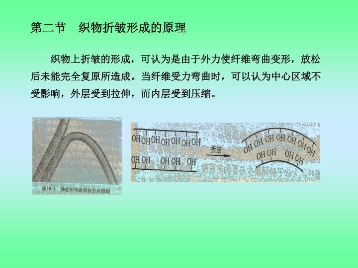 第二节 织物折皱形成的原理