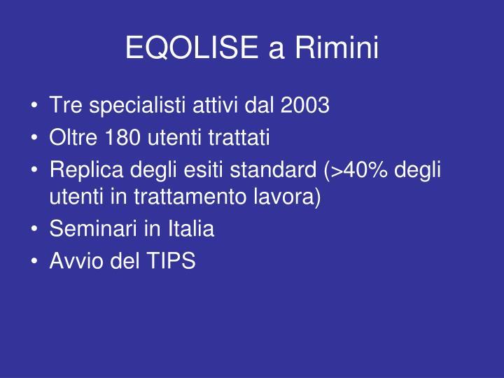 EQOLISE a Rimini