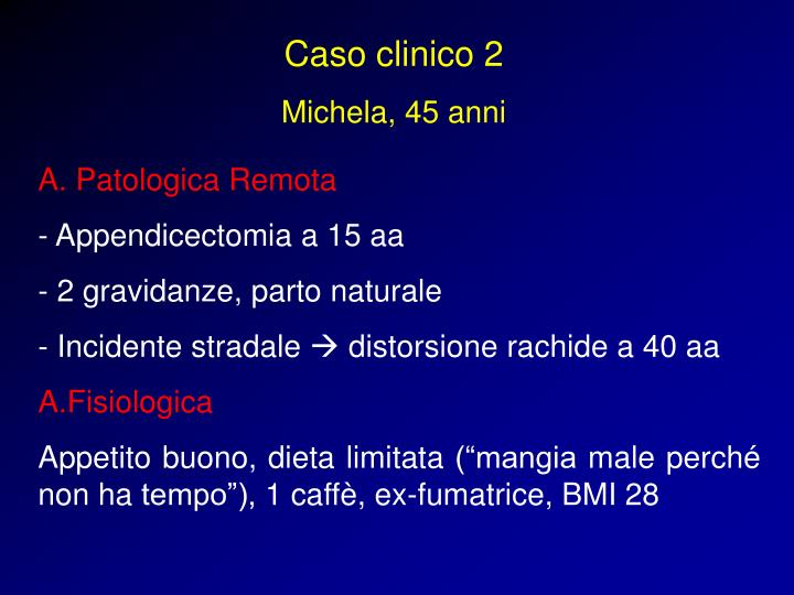 Caso clinico 2