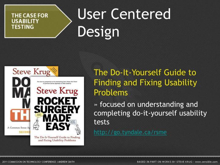 User Centered