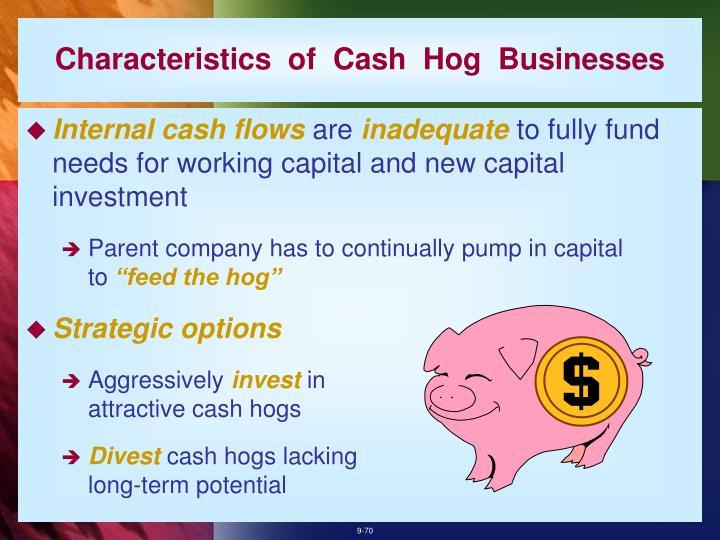 Characteristics  of  Cash  Hog  Businesses