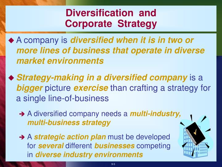 Diversification  and