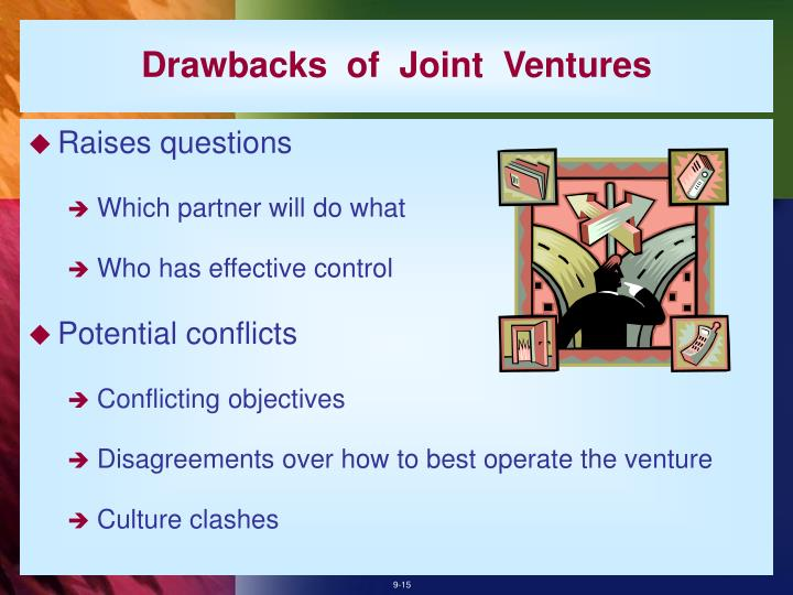 Drawbacks  of  Joint  Ventures