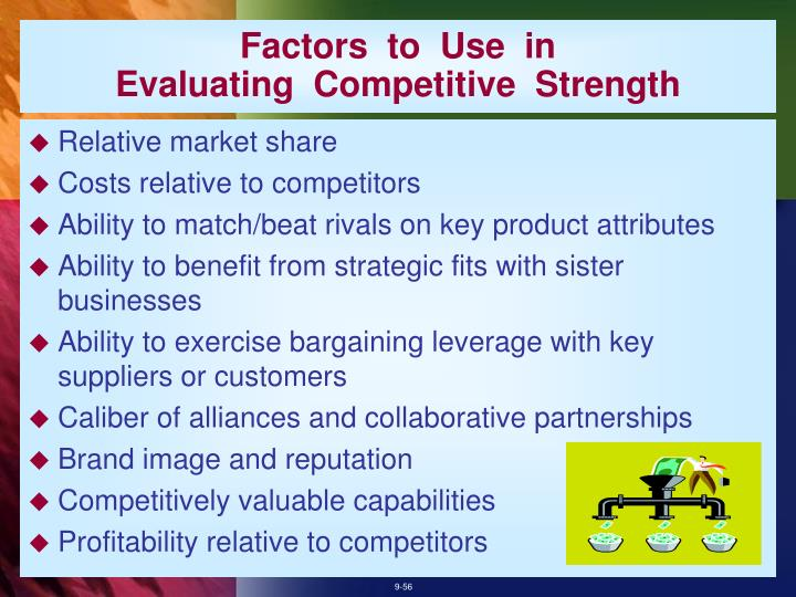 Factors  to  Use  in