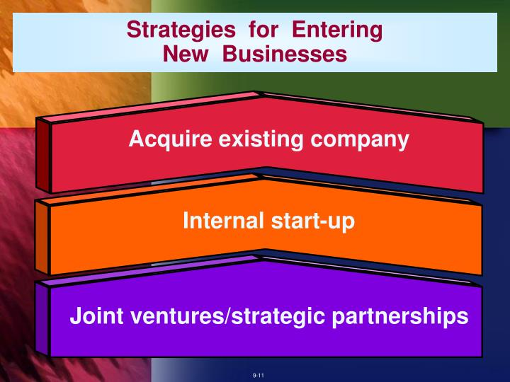 Acquire existing company