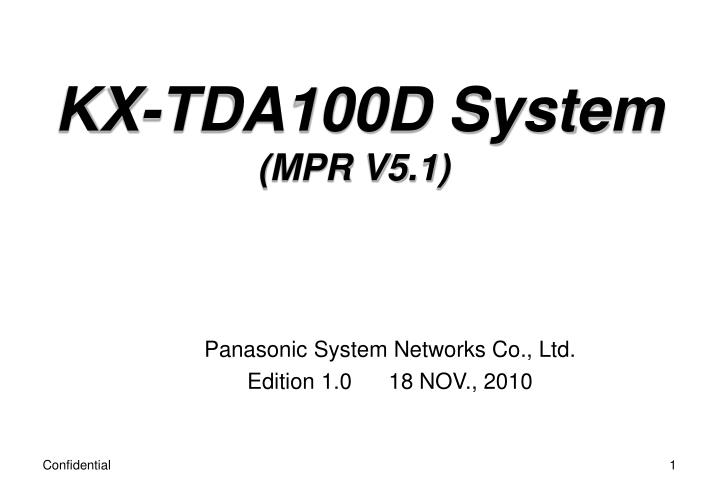 panasonic system networks co ltd edition 1 0 18 nov 2010 n.