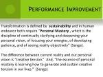 performance improvement10