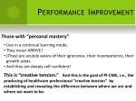performance improvement11