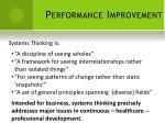 performance improvement9