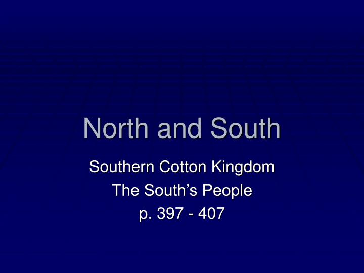 1800s north and south essay To conclude, the north and south had many differences on everything because of the resources they were limited to obtain also the different opinions they had, especially the problem with slavery these differences would soon be solved during the civil war.